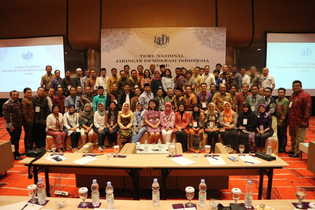 Temu Nasional Jaringan Demokrasi Indonesia (JaDI)