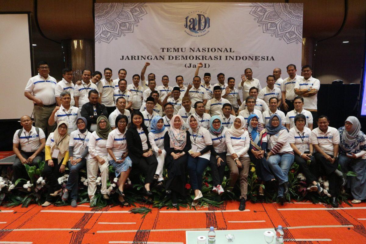 Deklarasi Terbentuknya Jaringan Demokrasi Indonesia (JaDI)